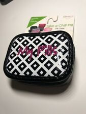 Miamica Take A Chill Pill Zippered Travel Case Pill Organizer Daily My Pills