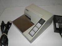 Epson TM-U295P M117A Dot Matrix Slip Printer Parallel  WITH Power Supply