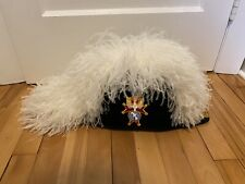 Knights Of Columbus 4th Degree Ostrich Plume Chapeau Hat
