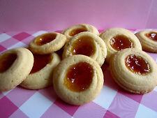 4 Dozen!  Homemade Butter cookies with Jam Filling + Beautiful Gift Box, Baking
