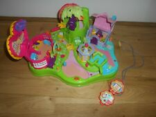 VINTAGE POLLY POCKET MAGICAL MOVIN FAIRYLAND 1997 PLAYSET NO MAGNETIC FIGURES +