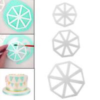 New 3pcs/Set Easy Bunting Cutter Fondant Sugarcraft Mould Cake Mould Decor White