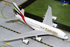 GEMINI JETS EMIRATES A380-800 1:200 DIE-CAST MODEL AIRPLANE A6-EUF G2UAE674