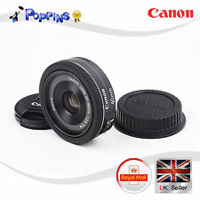 Genuine Canon EF 40mm f2.8 STM Lens EF40 28 STM BLACK