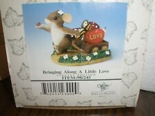 New in Box Fitz & Floyd Charming Tails * Bringing along a little Love
