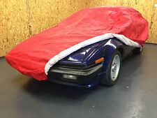Triumph Vitesse Indoor Car Cover Red Breathable Soft Lining Three Layer