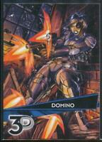 2015 Marvel 3-D Trading Card #66 Domino