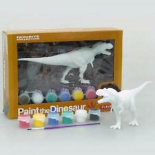 new T-REX Tyrannosaurus Paint the Dinosaur Figure Soft Model JAPAN