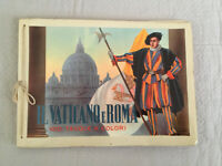 Vintage Italian Vatican Rome Souvenir Book