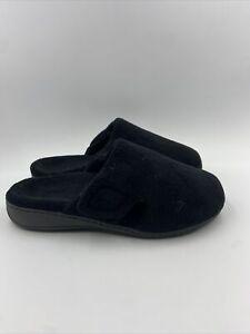Vionic Womens Indulge Gemma Black Slippers Size 9 M , 126