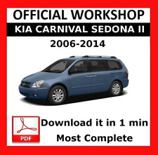 buy kia 2006 car service repair manuals ebay rh ebay co uk Kia Sedona Interior 2006 Kia Sedona Front Suspension