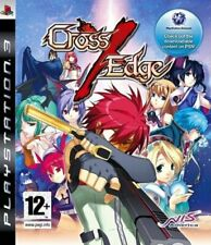 Cross Edge PS3 PlayStation 3 Video Game Mint Condition UK Release