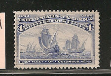 USA  #233  F-VF-NH   SC. Value $160.00