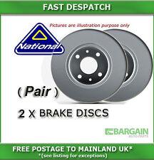 FRONT BRAKE DISCS FOR FIAT PUNTO / GRANDE PUNTO 1.2 10/2005 - 08/2007 3346