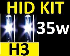 H3 35W HID KIT 4300k 6000k 8000k 10000k 12v 24v - 2 yr warranty Melbourne seller