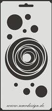 Scrapbook Stencil S-144  Circle Spiral ~ Craft ~ UMR-Design