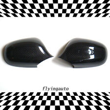 BMW E90 3-SERIES 2009~2012 CARBON FIBER MIRROR COVER, THERMOFORMING DRY CARBON