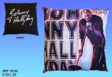 Coussin Johnny Hallyday 34 x 34 cm n° 9