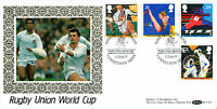 11 JUNE 1991 SPORT BENHAM BLCS 65 FIRST DAY COVER TWICKENHAM SHS