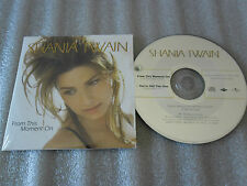 CD-SHANIA TWAIN-FROM THIS MOMENT ON-COME ON OVER-M.SHIPLEY-(CD SINGLE)98-2TRACK