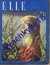 Elle n°41 du 05/09/1946 Jacqueline Bouvier Pagnol  mode fashion