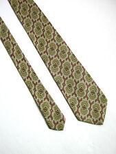 GIORGIO ARMANI BAROCCO BAROQUE Cravatta Tie Originale 100% SETA SILK