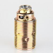 E14 Premium Lampen-Fassung Metall-Fassung Messing mit Außengewinde