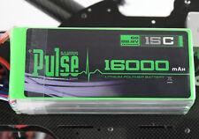 PULSE 16000mAh 6S1P 22.2V 15C Lipo Battery DJI S800