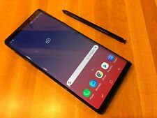 Samsung Galaxy Note9 Note 9 128GB Black Verizon AT&T T-Mobile H2O GSM Unlocked