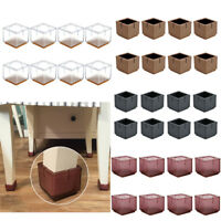 Feet Cover Wrap For Chair Desk Table Furniture Square Cap Floor Protector 4Color