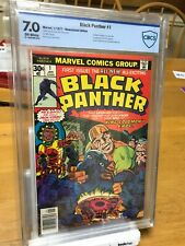 Black Panther #1 GRADED 7.0  Marvel 1977 !! JACK KIRBY RARE COMIC NOT CGC