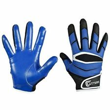 Football Receiver Gloves Cutters X40 C-Tack Revolution Football Gloves Sz Small