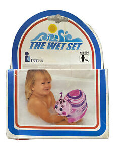 INTEX The Wet Set New Vintage 1990 Soft Lady Bug Puff n Play 58590 Inflatable