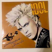 Billy Idol -  Whiplash Smile  UK Vinyl LP -  Original CDL 1514 -  VG+  UNPLAYED