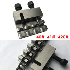 Motorcycle Bikes Chain Splitter Breaker Tool Heavy Duty Link No. 40/41/420 Steel