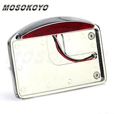 "Motorcycle 1"" Back Axle Side Mount LED License Plate Tail Light For Chopper"