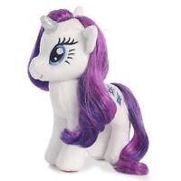 "Ty Beanie Sparkle 16"" My Little Pony Plush Rarity Unicorn MLP Stuffed Animal Toy"