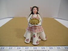 Pavilion Kneeded Angels Spice of Life with Apple Pie Collectible Figurine #6025