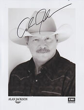Alan Jackson HAND Signed 8x10 Photo, Autograph, Drive, Remember When, Chattahooc