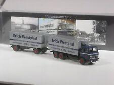Wiking C&I Sondermodell Mercedes 2223 Kühlkoffer Hängerzug Erich Westphal