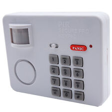 Infrarot Alarmanlage Panik Taste Bewegungsmelder Zahlencode 100 dB 5m Haus Alarm