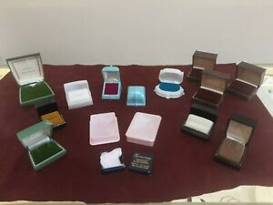1970's Lucite Ring Earring Trinket Boxes NEW Never Used #A1