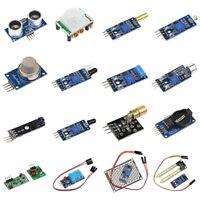 16 in 1 Modules Sensor Kit Project Super Starter Kits for Arduino UNO R3 Me V8D7