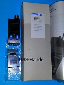 FESTO SDE1-V1-G2-W18-L-P2-M12 192766 Drucksensor Pneumatik NEU & OVP 1B03