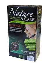 SANTE VERTE NATURE & soin Blond (7N) permanent Coloration de cheveux -100% gris