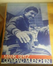 Vintage 1972 Mark Spitz POSTER Munich Olympics OLYMPIAD MUENCHEN 24x37 Original