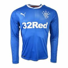 Rangers FC Home Shirt 16/18 - Long Sleeves