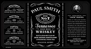 PERSONALISED JACK DANIELS WHISKEY 70CL BOTTLE LABEL - PARTY / BIRTHDAY / WEDDING