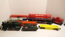 Lionel O Scale Train Rock Island 0-4-0 Steam Locomotive/Tender & Freight Cars