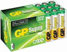 GP Super Alcalina Box of 24x BATTERIE AAA value pack